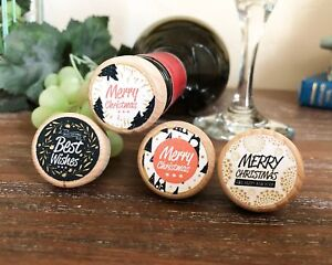 Christmas Wine Stoppers.Details About Christmas New Year Themed Wine Stoppers Corks For Holiday Gift Stocking Stuffers
