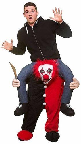 Adult Carry Me Zombie Killer Clown Vampire Skeleton Bunny Halloween Fancy Dress