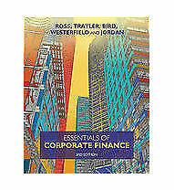 1 of 1 - Essentials of Corporate Finance by Ron Bird, Stephen Ross, Rowan Trayler (Paper…