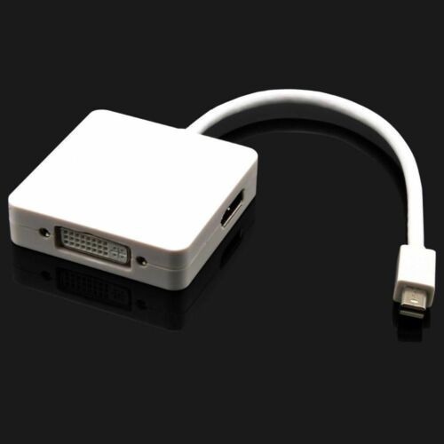 DVI New 3 in1 Mini DP to HDMI Display Port Adapter  For Dell Latitude E7440