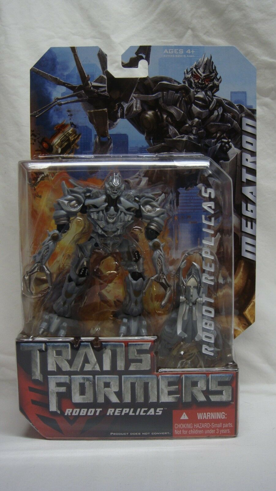 TRANSFORMERS MOVIE ROBOT REPLICAS DECEPTICON MEGATRON NEAR NEAR NEAR MINT SEALED  8fea83