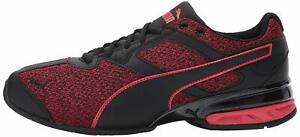 Puma-MEN-039-S-Tazon-6-FM-CROSS-Trainer-scarpa-puma-BLACK-TOREADOR-Taglia-10-5-qxff