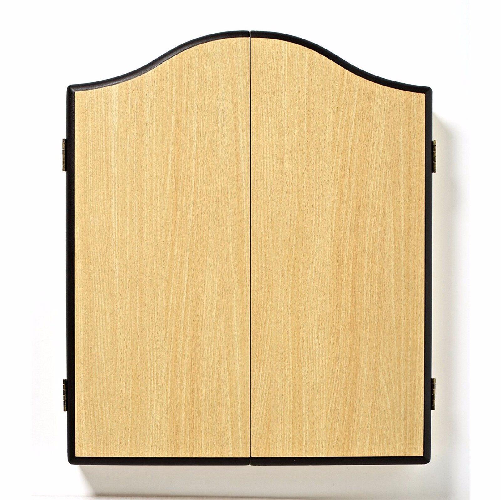 Winmau Cabinet Dartboard Veneer Effect Beech Plain ...