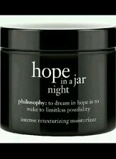 NEW SEALED IN BOX PHILOSOPHY HOPE IN A JAR NIGHT INTENSE MOISTURIZER 2 OZ JAR