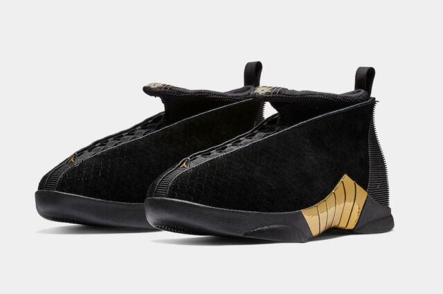 c720d981ee8 Nike Air Jordan Retro 15 XV DB Doernbecher Size 9.5-15 Black Gold BV7107-