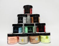 Inm Northern Light Holographic Acrylic Nail Powder Assorted Colors 1.5oz/42g