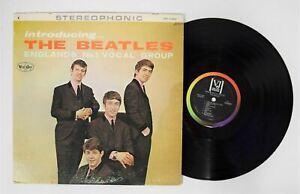 Introducing... THE BEATLES LP Vee-Jay Records VJLPS-1062 vinyl album Monarch VG+