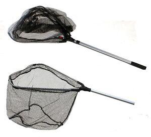 Dinsmores Rigid Oval Easi-Flo Super Soft Green Mesh Fishing Landing Net 22in