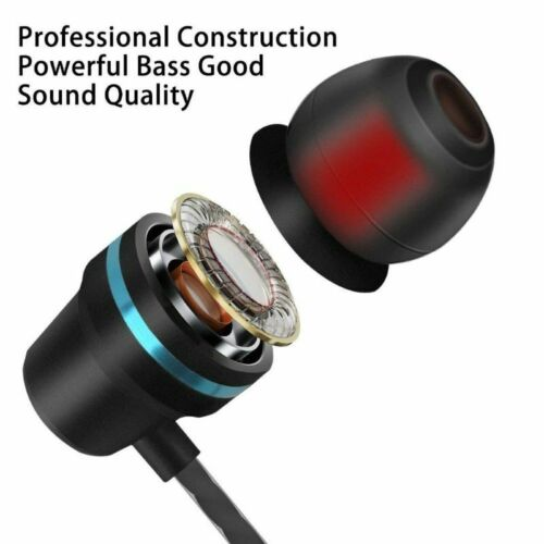 HIFI Super Bass Headset 3.5mm In-Ear Earphone Stereo Earbuds Headphone With Mic