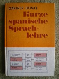 Kurze Spanische Sprachlehre Ddr Schulbuch Spanisch Lernen