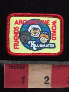 Colorful Klubmates FRIENDS AROUND THE WORLD Patch Multicultural & Eskimo 77WI