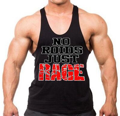 New Bench Stringer Bodybuilding Workout Vest Tank Top Beast Muscle Gym shirt