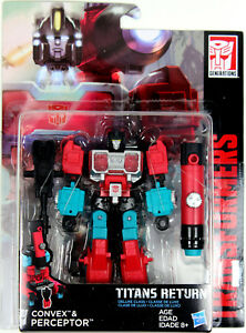 Details about Transformers: Titans Return ~ PERCEPTOR & CONVEX ACTION  FIGURES ~ Deluxe Class