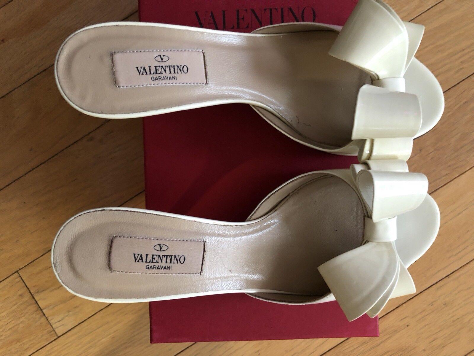 le migliori marche vendono a buon mercato Splendid VALENTINOmodel mules  bow bow bow  patent leather witha beautiful bow US 37.5  disegni esclusivi