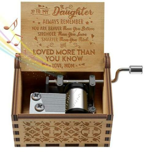 Engraved Music Box FOR Mom//DAD To Daughter You Are My Sunshine  Music Box