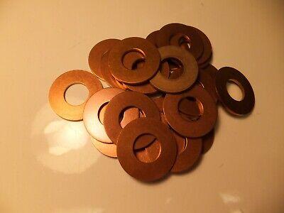 Silicon Bronze Flat Washer #8 Qty 250