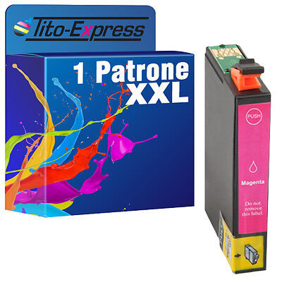 1x Magenta XXL ProSerie für Epson Workforce WF2010 WF2510 WF2520 WF2530 TE1633