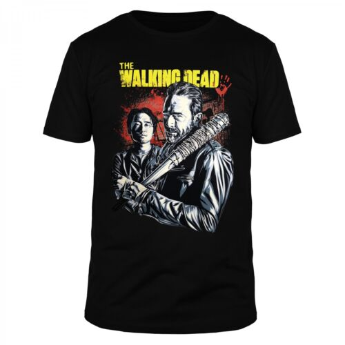The walking zombie Dead Glenn Negan Lucille Maggie Blood saviors messieurs shirt