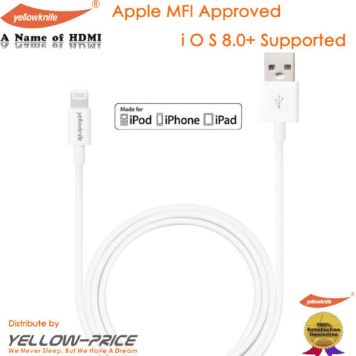 Universal Car Charger OEM Original Apple iPhone iPad Lightning Charger Cable