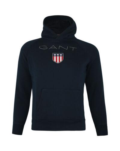 Gant Capuche Hoodie Sweatshirt Pull Bleu Jeunes Filles Enfants 98 146 152
