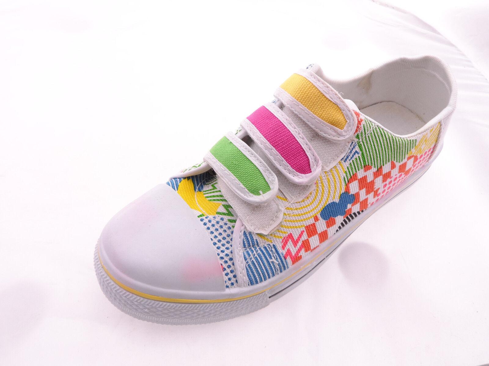 Bumper Women Multy color Sneakers three Vecro strap Size 8.5M