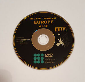 2017-18-TOYOTA-amp-LEXUS-SAT-NAV-DISC-NAVIGATION-MAP-UPDATE-DVD-UK-amp-WEST-EUROPE