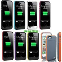 6000mAh iPhone 6 6S Plus External Battery Backup Charging Bank Power Case Cover