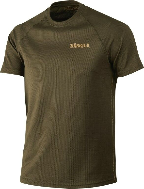 Härkila Hunting Shirt - T-Shirt Herlet Tech - Willow Green - 160100829