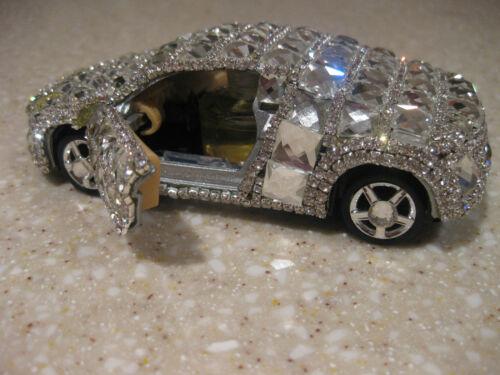 "Details about  /AUDI  5 /"" DIE CAST CAR BLING MIRRORED AIR FRESHNER PULLBACK MOTION VEGAS"