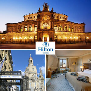 Dresden Hilton Hotel exklusive Städtereise 2 Personen Top Lage Altstadt Wellness