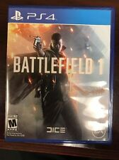 Battlefield 1 (Sony PlayStation 4, PS4, 2016) BRAND NEW FACTORY SEALED!!!!!!!!!!