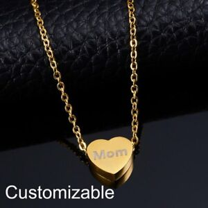 Personalized-Stainless-Steel-Engrave-Heart-Name-Custom-Necklace-Pendant-Gift-Hot