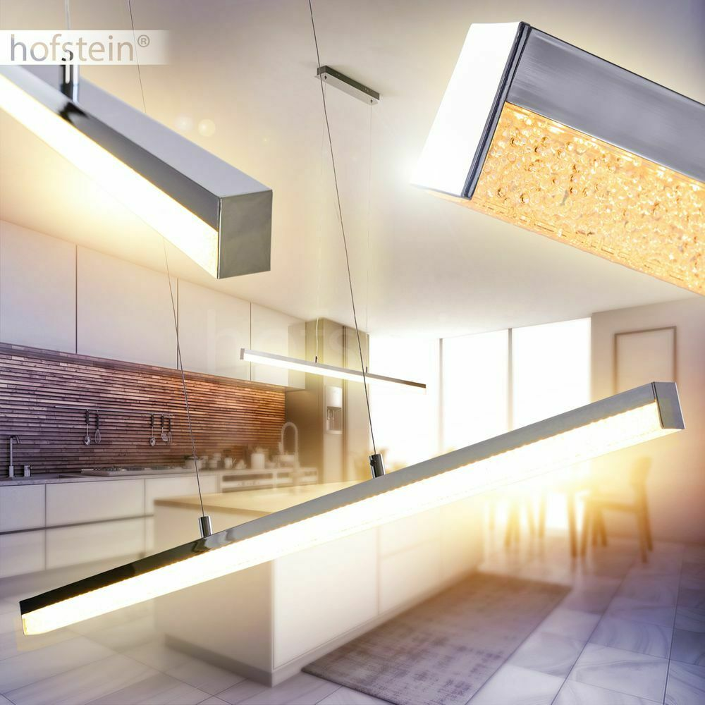 LED Design Pendel Lampen edle Hänge Leuchten Ess Tisch Wohn Zimmer Beleuchtung