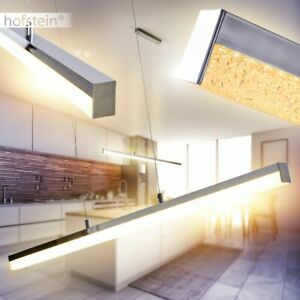 LED Design Pendel Leuchten verstellbare Hänge Lampen Ess Tisch Wohn Zimmer Glas
