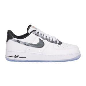 Detalles acerca de Nike Air Force 1 Lv8 Blanco Negro Puro Platinum DB1997  100 Para Hombres Zapatos Todas Las Tallas- mostrar título original