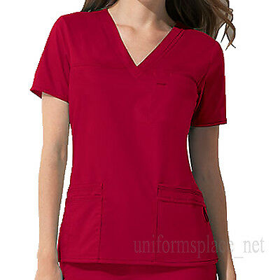 Dickies Scrubs Tops Womens Youtility V-NECK Top Junoir Fit Uniform Shirts 817455