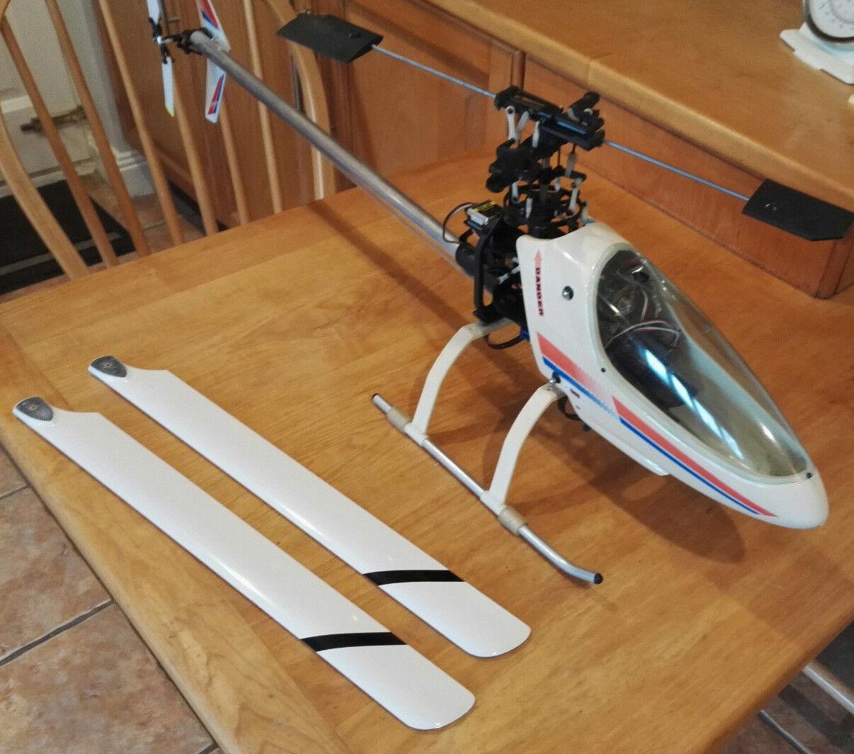Must See-KALT WHISPER & 's Repuestos RC helicóptero eléctrico NUEVO