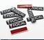 10x FOCAL 3D Audio Speaker Letter Stickers Car Auto Accessories 10 Pcs