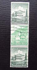 Deutsches Reich ZD S 261 , Zusammendrucke 754+753+754 , Gestempelt