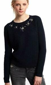 59 Jumper Knit Crew Petal New 99 £ Womens Taglia Rrp small Blu Superdry X xXFwA7qW