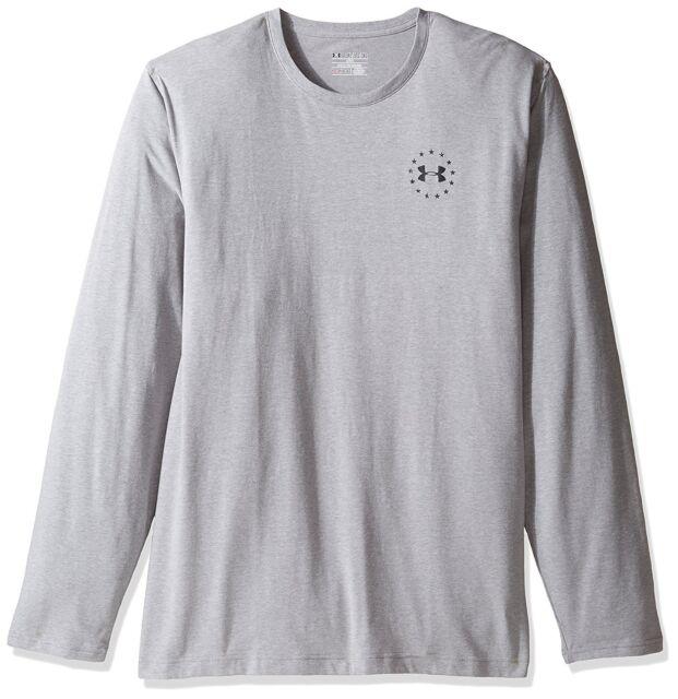 843cf7cd Under Armour 1299259 Men's UA Freedom Flag Tee Long Sleeve Shirt ...