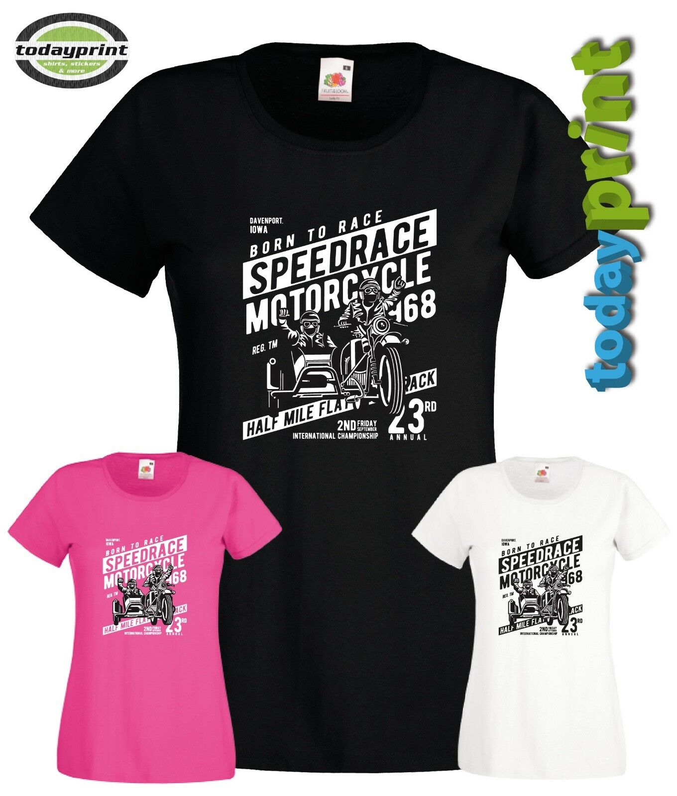 Kranke Schwester Damen Girlie Fun T-Shirt S-XXL BRK Krankenschwester Sick Sister