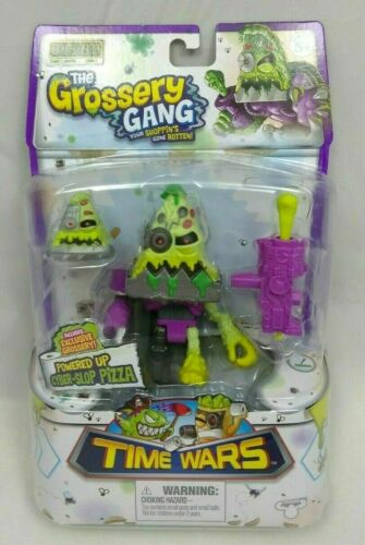 The Grossery Gang Time Wars Powered Up Cyber Slop Pizza  Action Figure **NEW**