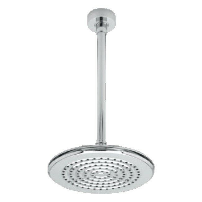Triton CYRENE Fixed Shower Head with Ceiling Mounted Bras Chrome Round kitsatcyr