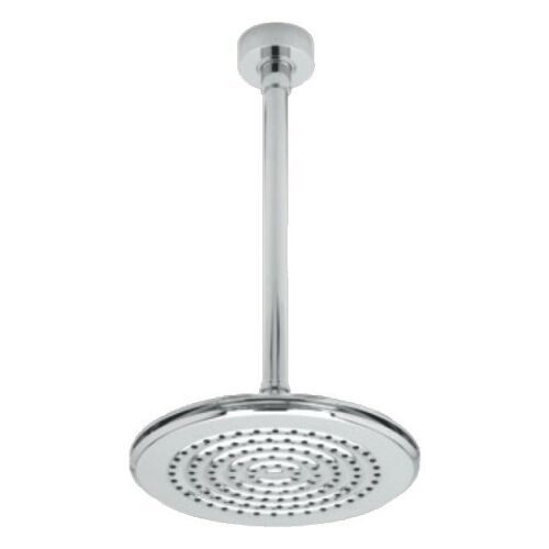 Triton Cyrene Fixed Shower Head with Ceiling Mounted Arm Chrome Round KITSATCYR