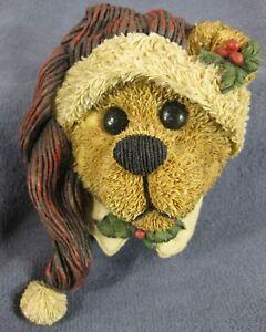 Boyds-Bears-amp-Friends-Edmund-Deck-The-Halls-65428-Christmas-Figurine-Retired