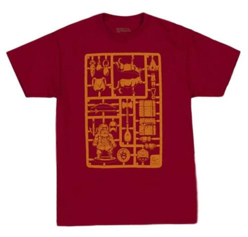 Dungeons and Dragons Sprue Scavenger Red Men/'s T-Shirt Loot Crate Exclusive