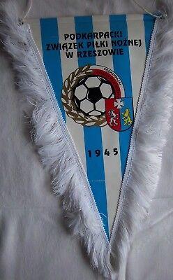 Orig.wimpel Pspn - Podkarpacki Fußballverband / Polen - 40 Cm !! Selten Up-To-Date-Styling