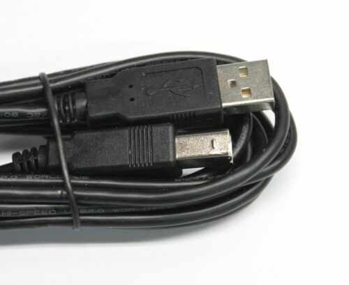 USB 2.0 Type A To B Male Cable Cord for Canon PIXMA MX892 MX922 MX924 Printers