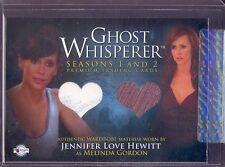 GHOST WHISPERER 1 AND 2 2009 BREYGENT CASE INCENTIVE COSTUME CARD GCI-3 HEWITT